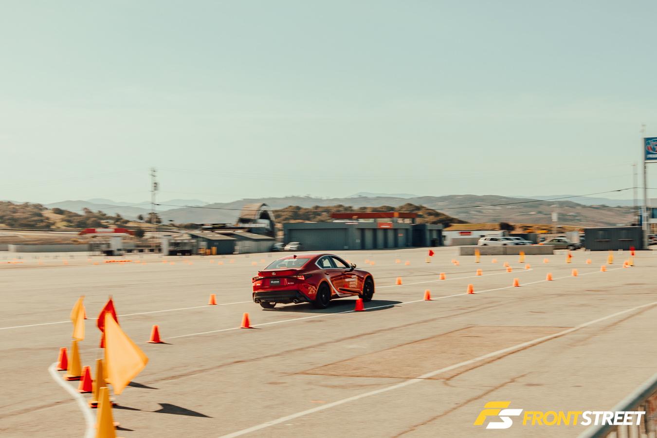 Review: Lexus Performance Driving School At Laguna Seca